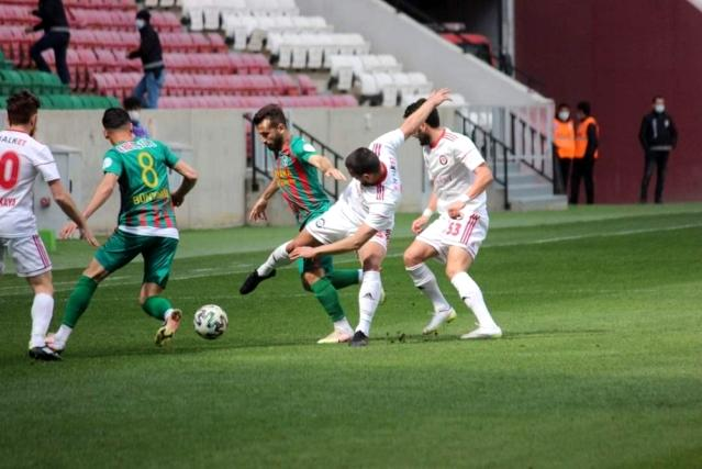 2. Lig: Amedspor: 1 Çorum Futbol Kulübü: 2