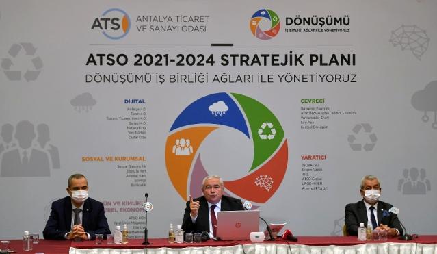 ATSO Başkanı Davut Çetin: Pandemiden güçlü bir çıkış yapmalıyız
