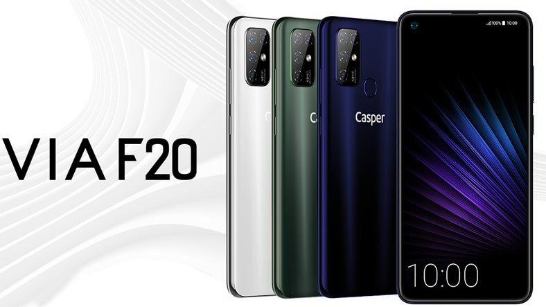 Casper, Montajını Türkiye'de Yaptığı İlk Akıllı Telefonu VIA F20'yi Duyurdu