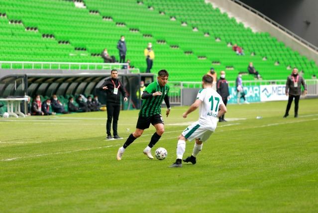2. Lig: Sakaryaspor: 1 Kırşehir Belediyespor: 1