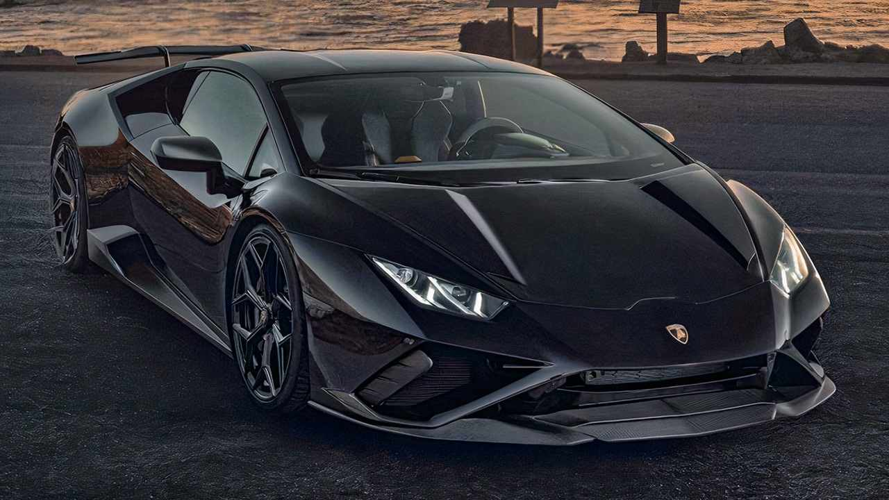 Novitec Lamborghini Huracán EVO RWD ön